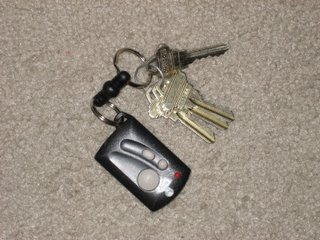 Keys to our very first house