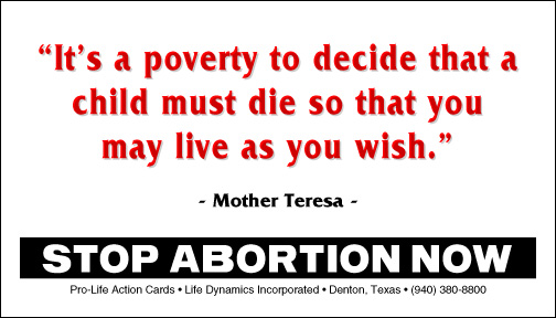 Anti Abortion Quotes Sayings | www.imgkid.com - The Image ...