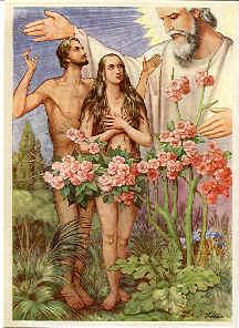 Bible stories adam and eve for Adan y eva en el jardin de eden