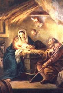 What A Glorious Night It Was For Jesus Born Mary Wrapped Him In Soft Cloth And Laid Manger Is Wooden Box Used Feeding The