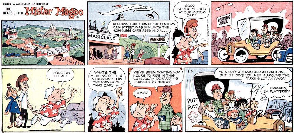 Comic strip aldo