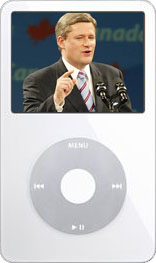 iPod de Stephen Harper