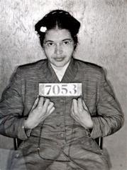 Rosa Parks Mugshot