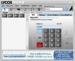 Il motore di ricerca Lycos entra nel mercato del VoIP con Lycos Phone