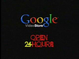Google's video store