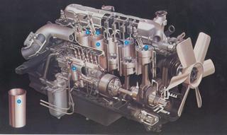 Isuzu 6BD1 Turbo Diesel