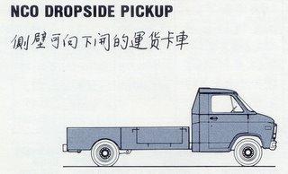 NCO Dropside Pickup