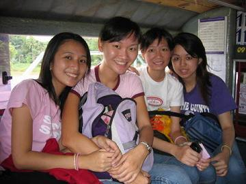 Ying, Naam, Daaw and me