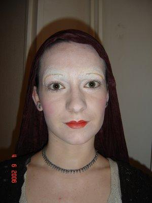 maquillage femme moyen age