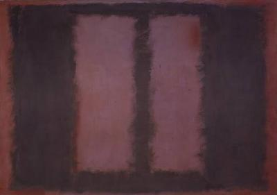 Rothko, Black on Maroon (1958)