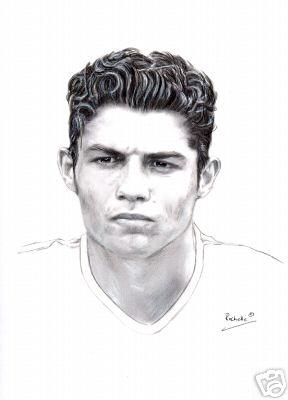 Cartoon Cristiano Ronaldo