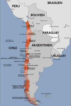 Chile viagem - O país