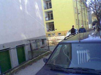 Imagens comicas -  Aquecimento do carro