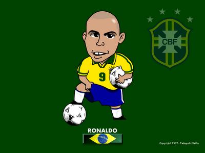Caricaturas Ronaldo