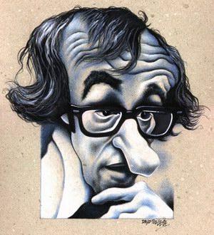 Famous cartoon cinema - Woody Alan