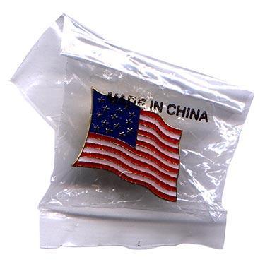 Bandera americana: Pin para solapa