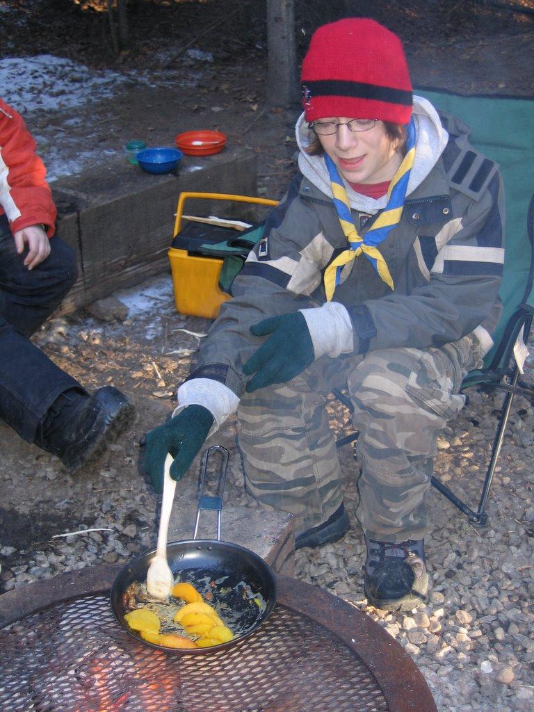 La pêche sur altae vidéo en hiver