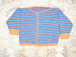 o&b baby sweater