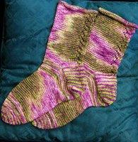 Marie's Calla Lily socks