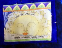 Sister Moon Quilt Label