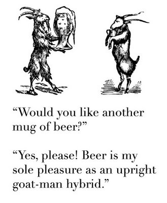 another mug of beer