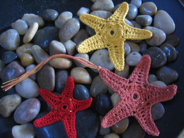 Amigurumi Sea Star : crochetroo: Orange Sea Star