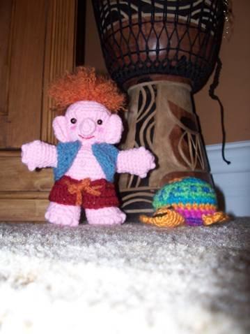 Crochetroo Digger Dude Troll Doll Enchanting Trolls Crochet Pattern