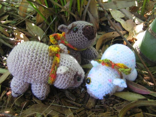 Crochetroo Wombats Marsupial Madness