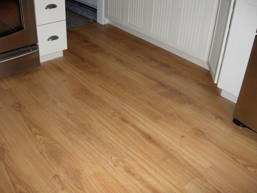 Country living s kitchen remodeling project blog for Dupont real touch elite laminate flooring