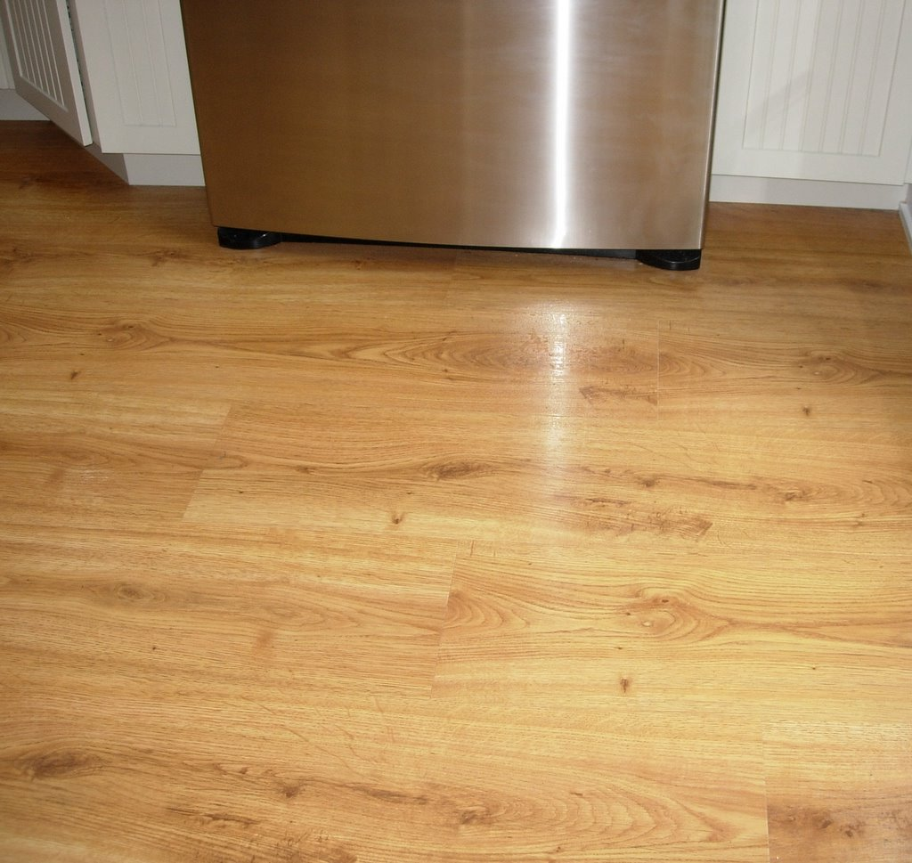 Country living s kitchen remodeling project blog new floors for Dupont real touch elite laminate flooring