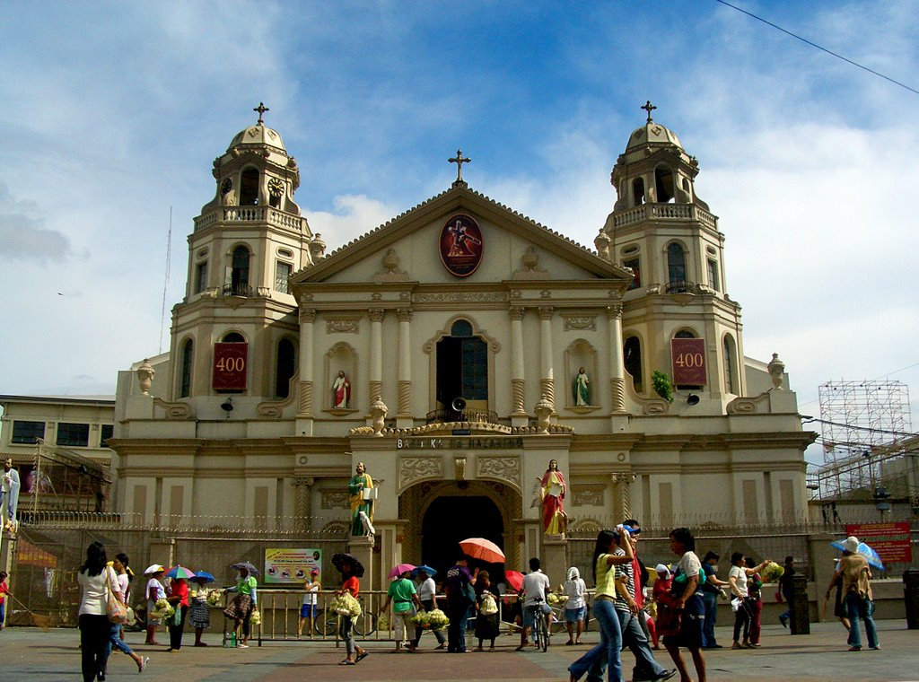 Quiapo Church Map Images