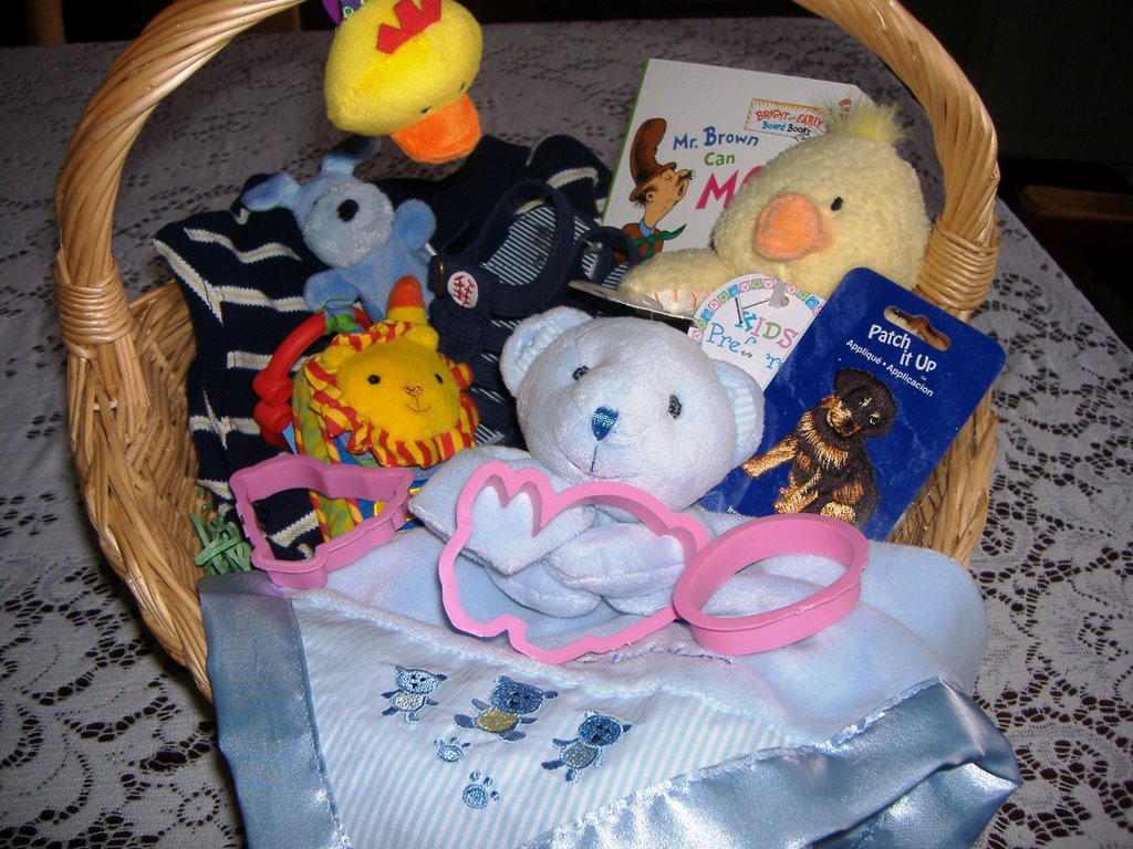 Anybody home baby boys easter basket baby boys easter basket negle Image collections
