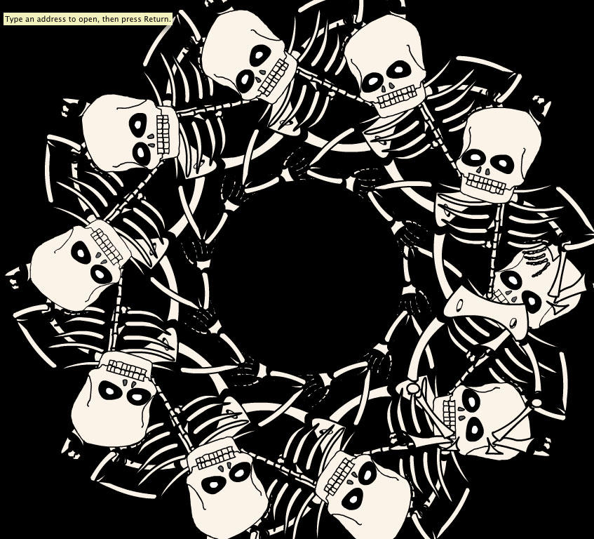 Skeleton Dance 1