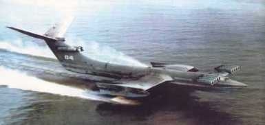 El monstruo del Mar Caspio hecho en Rusia