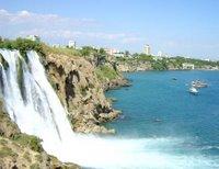 Cascada del río Duden, en Turquía