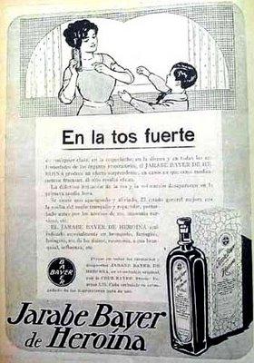 El origen medico de la heroina