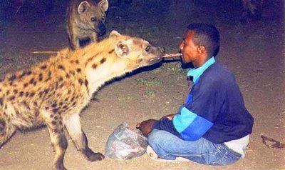 Hombre-hiena de Harer