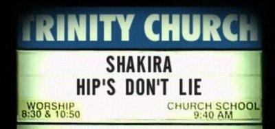 SHAKIRA SIGN