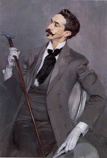Portrait of Robert de Montesquiou, the inspiration for Proust's Baron de Charlus