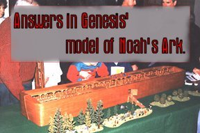 Model of Noah's Ark