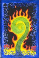 image of flaming koru - creativity imagination mental illness