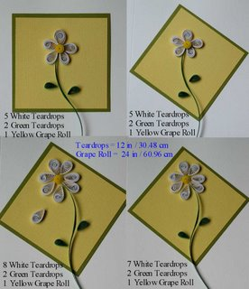 free quilling patterns daisy