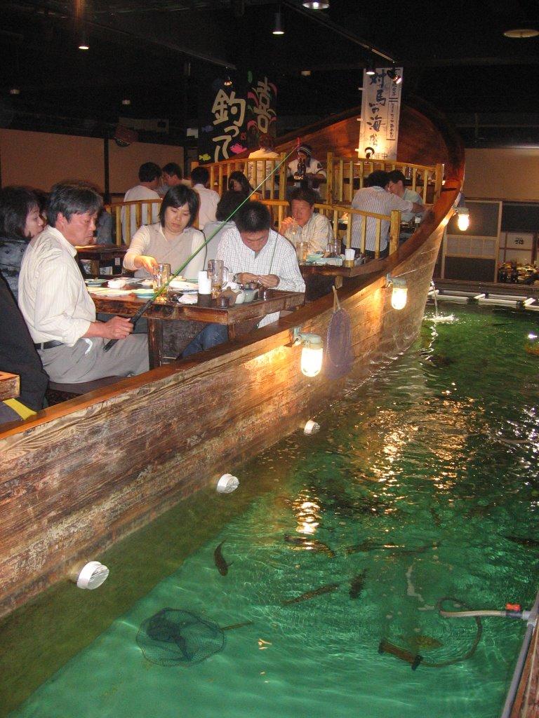 Kristina in tokyo indoor fishing for Indoor fishing