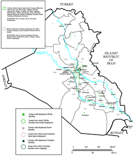 Internal displacement and forced deportation in Iraq