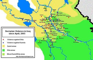 Sectarian violence in Iraq, 2003 - 2005
