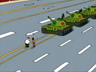 Family Guy - Death has a Shadow - Tiananmen Scene, Głowa rodziny