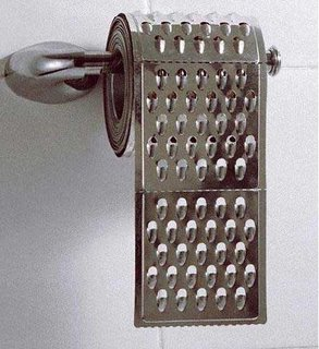 Grater Toilet Paper - Tarkowy papier toaletowy