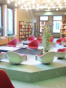 biblioteca municipal de Brugges