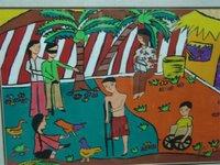 desenhos de criancas sobre a guerra do vietnam e o que representam para elas