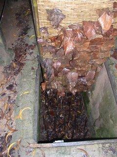 essa era uma das varias armadilhas utilizadas. Um piso falso na selva. Os soldados americanos pisavam, a plataforma disfarcada girada e ele caia num buraco cheio de estacas com mais ou menos 1.5 metros